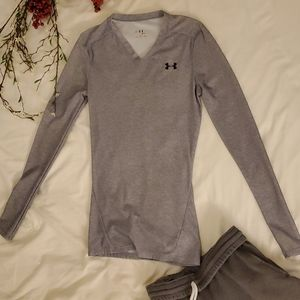 Under Armour heat gear long sleeve compression top